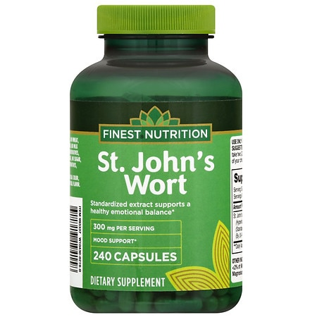 Finest Nutrition St. John's Wort 300 mg - 240 ea