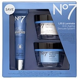 No7 Lift and Luminate Triple Action Skincare System Kit