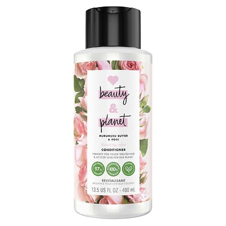 Love, Beauty & Planet Blooming Color Conditioner Murumuru Butter & Rose - 13.5 oz.