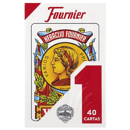 Fournier Spanish Playing Cards - 1 ea