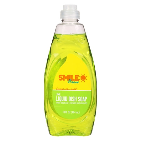 Smile & Save Hand and Dish Soap Lime - 14 fl oz