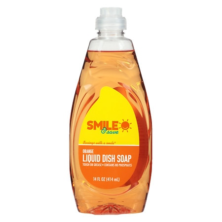 Smile & Save Hand and Dish Soap Orange - 14 fl oz