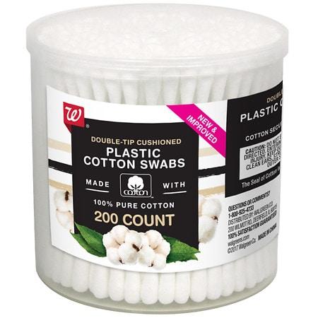 Walgreens Beauty Cotton Swabs - 200 ea