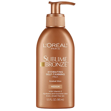 L'Oreal Sublime Bronze Hydrating Self-Tanning Milk - 5.5 oz.