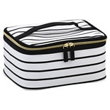 Walgreens Beauty Strictly Stripes Train Case