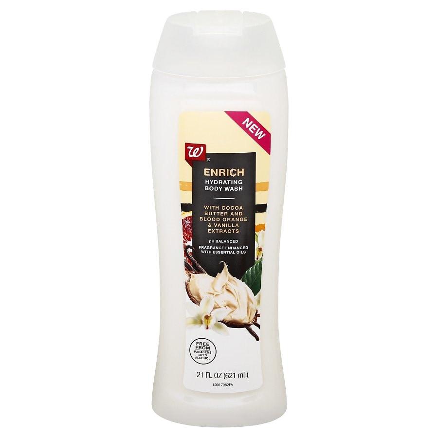 Walgreens Beauty Enrich Nourishing Body Wash Cocoa Butter Blood Orange And Vanilla Cocoa Butter Blood Orange And Vanilla Walgreens