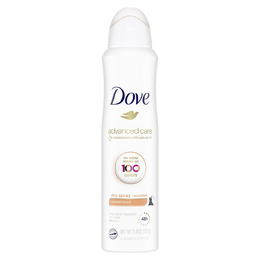 Dove Women Antiperspirant Dry Spray Crystal Touch
