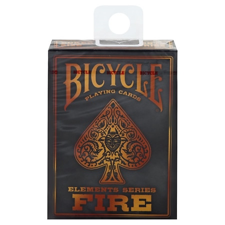 Bicycle Elements Series Fire Playing Cards - 1 ea