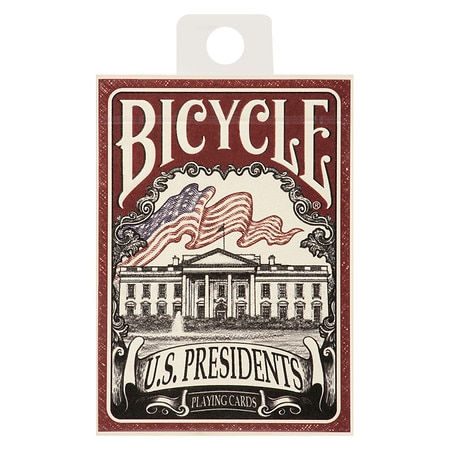 Bicycle U.S. Presidents Playing Card Deck - 1 ea