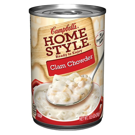 Campbell's Homestyle Clam Chowder - 11 oz.