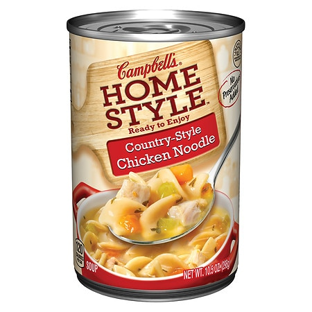 Campbell's Homestyle Country Chicken Noodle Soup - 11 oz.