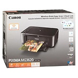 Canon Pixma Wireless Inkjet Printer MG3620 Black