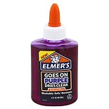 Elmer's Disappearing Purple Liquid School Glue Purple