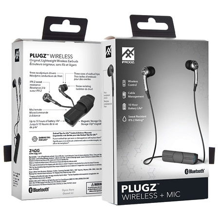Ifrogz Audio Plugz Wireless Earbuds - 1 ea