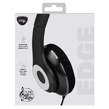 ihip edge headphones black silver walgreens. Black Bedroom Furniture Sets. Home Design Ideas