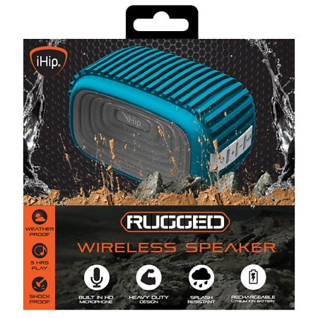 IHIP Rugged Splash Resistant Bluetooth Speaker - 1 EA