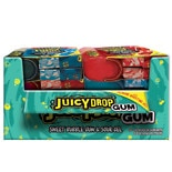 Topps Juicy Drop Gum Wallet Assorted Flavors