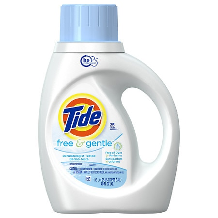 Tide Free High Efficiency Liquid Detergent - 40 fl oz