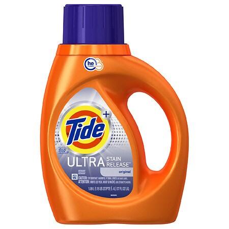 Tide Ultra Stain Release High Efficiency Liquid Detergent Original - 37 fl oz