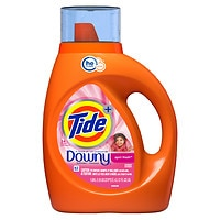 Deals on Tide Liquid Laundry Detergent Plus Downy April Fresh 37-Oz