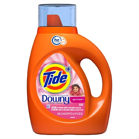 Tide Liquid Laundry Detergent Plus Downy April Fresh (Was $7.49, Now $4.99)