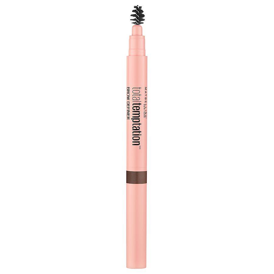 d9afe553f00 Maybelline Total Temptation Eyebrow Definer Pencil, Medium Brown ...