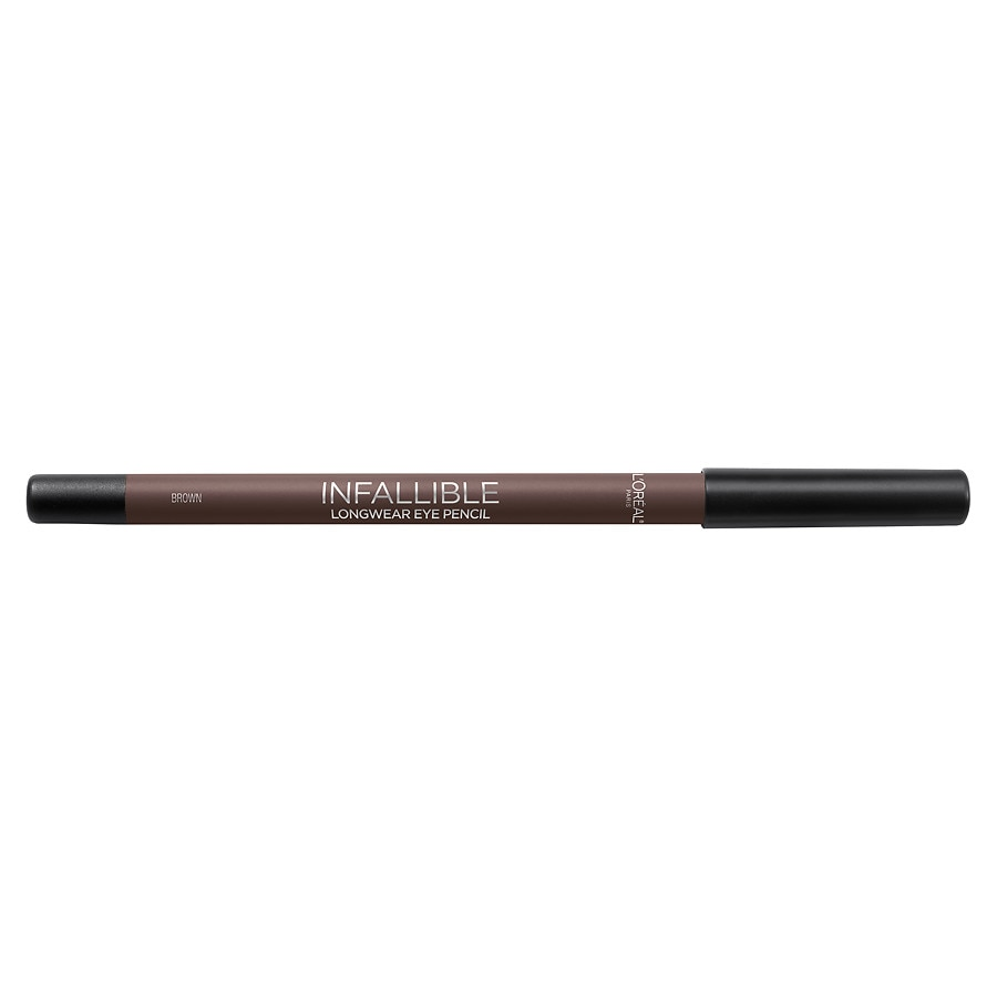 1bc44163ea8 L'Oreal Paris Infallible Pro-Last Waterproof Pencil Eyeliner, Brown0.42 oz