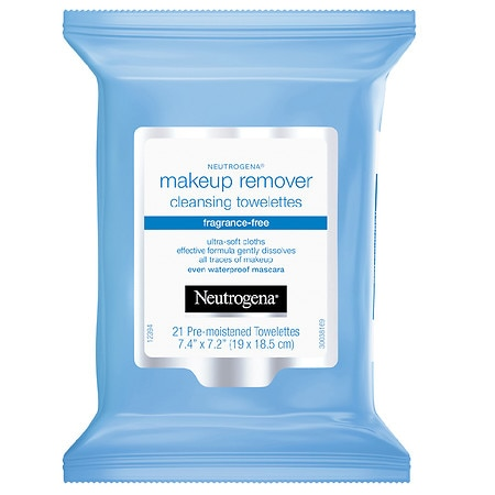 Neutrogena Makeup Remover Cleansing Towelettes Fragrance Free - 21 ea