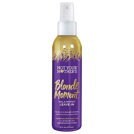 Not Your Mother's Blonde Moment Seal & Protect Leave-In Conditioner - 6 fl oz