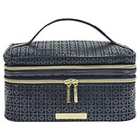 ItsJudyTime Train Case Navy/ Gold