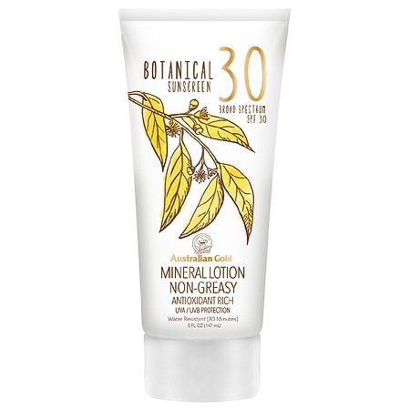 Australian Gold Botanical SPF 30 Mineral Sunscreen Lotion - 5 fl oz