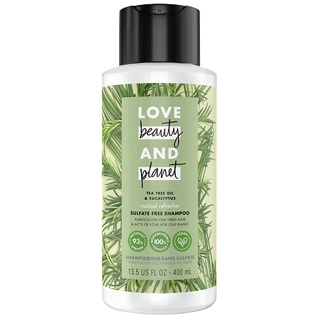 Love, Beauty & Planet Radical Refresher Conditioner Tea Tree Oil & Vetiver - 14 oz.