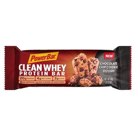 PowerBar Clean Whey Bar Chocolate Chip Cookie Dough - 2.12 oz.