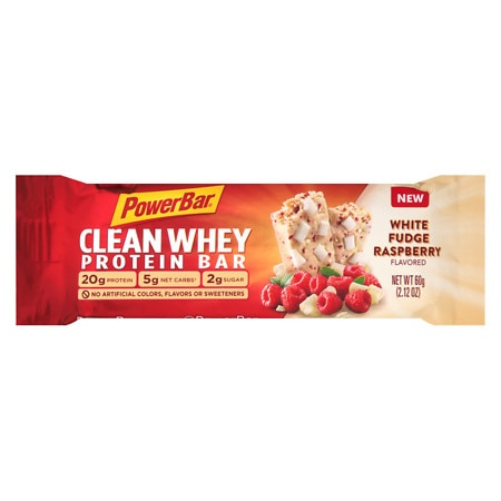 PowerBar Clean Whey Bar White Fudge Raspberry - 2.12 oz.