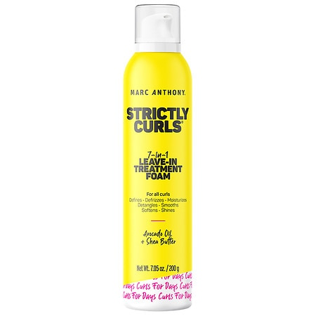 Marc Anthony True Professional Strictly Curls Perfect Curl 7-IN-1 Leave-In Treatment Foam - 7.1 oz.