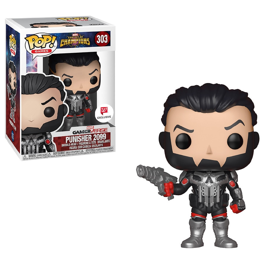 funko pop marvel punisher 2099 walgreens