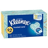 Kleenex Everyday Facial Tissues, Flat Box