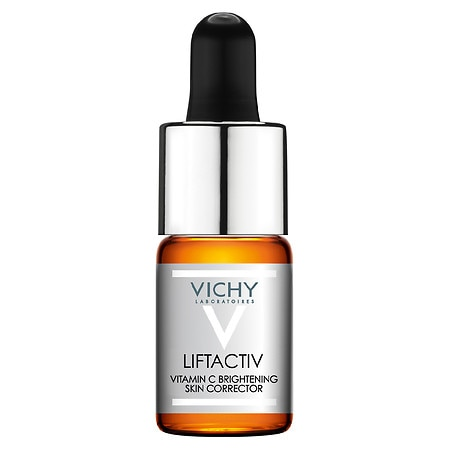 Vichy LiftActiv Vitamin C Face Serum Brightening Skin Corrector with Hyaluronic Acid - 0.33 oz