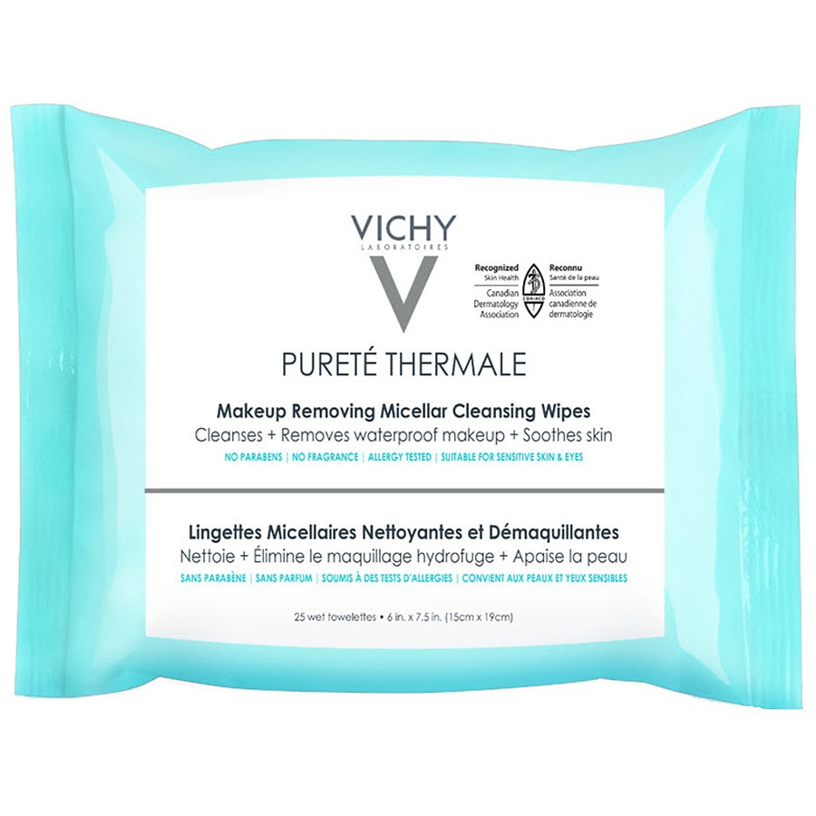 Vichy Purete Thermale 3 In 1 Makeup Remover Wipes With Micellar - Allergic-reaction-to-makeup-remover-on-eye