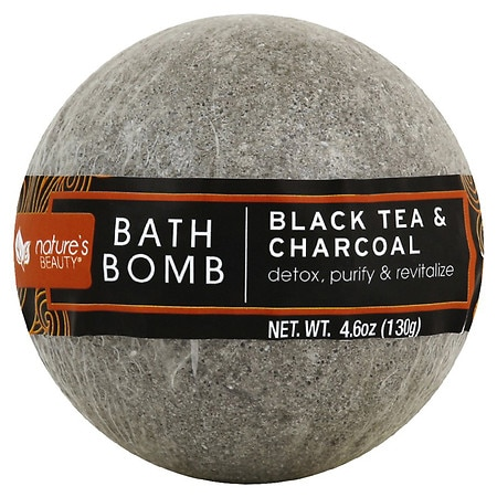 Nature's Beauty Black Tea & Rooibos Bath Bomb - 4.6 oz.