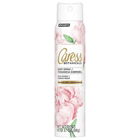 Image of Caress Body Spray for Women Pink Peony - 3.1 oz.