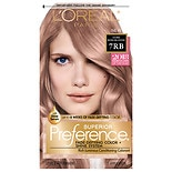 L'Oreal Paris Superior Preference Permanent Hair Color 7RB Dark Rose Blonde