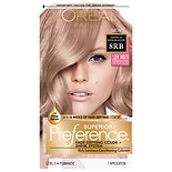 L'Oreal Paris Superior Preference Permanent Hair Color 8RB Medium Rose Blonde