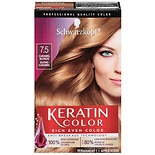 Schwarzkopf Keratin Color Hair Color Kit Caramel Blonde 7.5