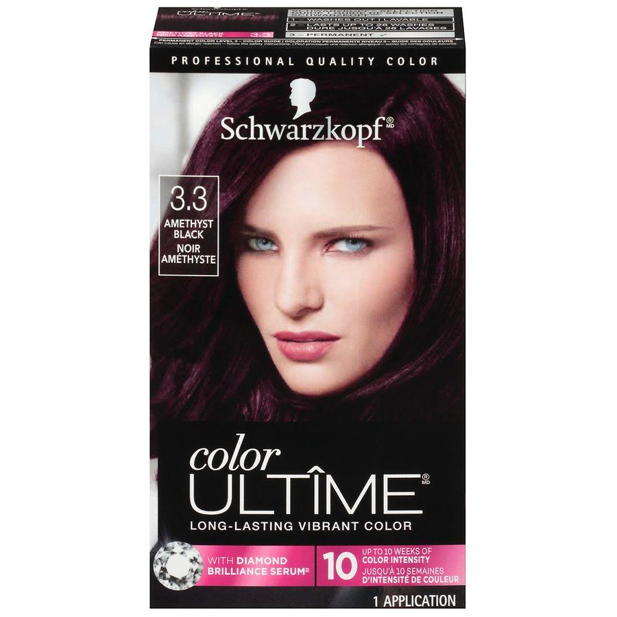 Schwarzkopf Color Ultime Color Cream, Amethyst Black 3.3   Walgreens
