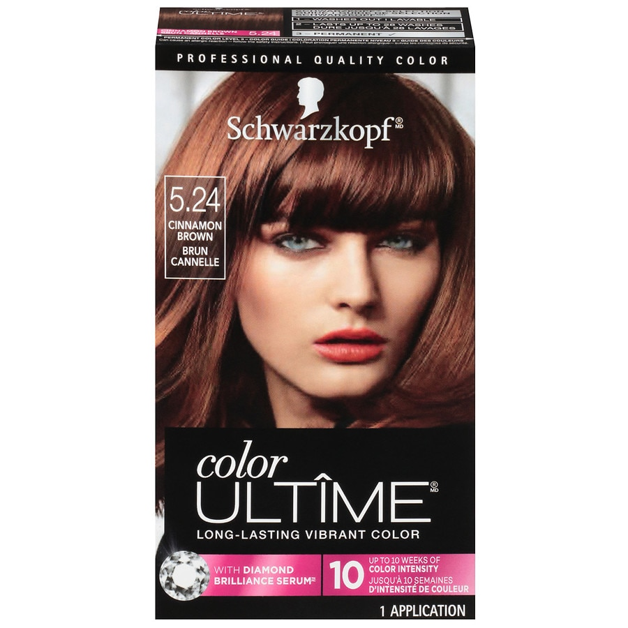 979ff6ebbaa08e Schwarzkopf Color Ultime Color Cream, Cinnamon Brown 5.24 | Walgreens