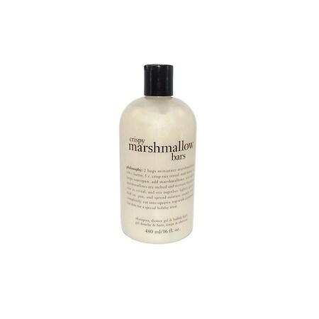 philosophy 3 in 1 Shampoo, Shower Gel & Bubble Bath Crispy Marshmallow Bars - 16 fl oz