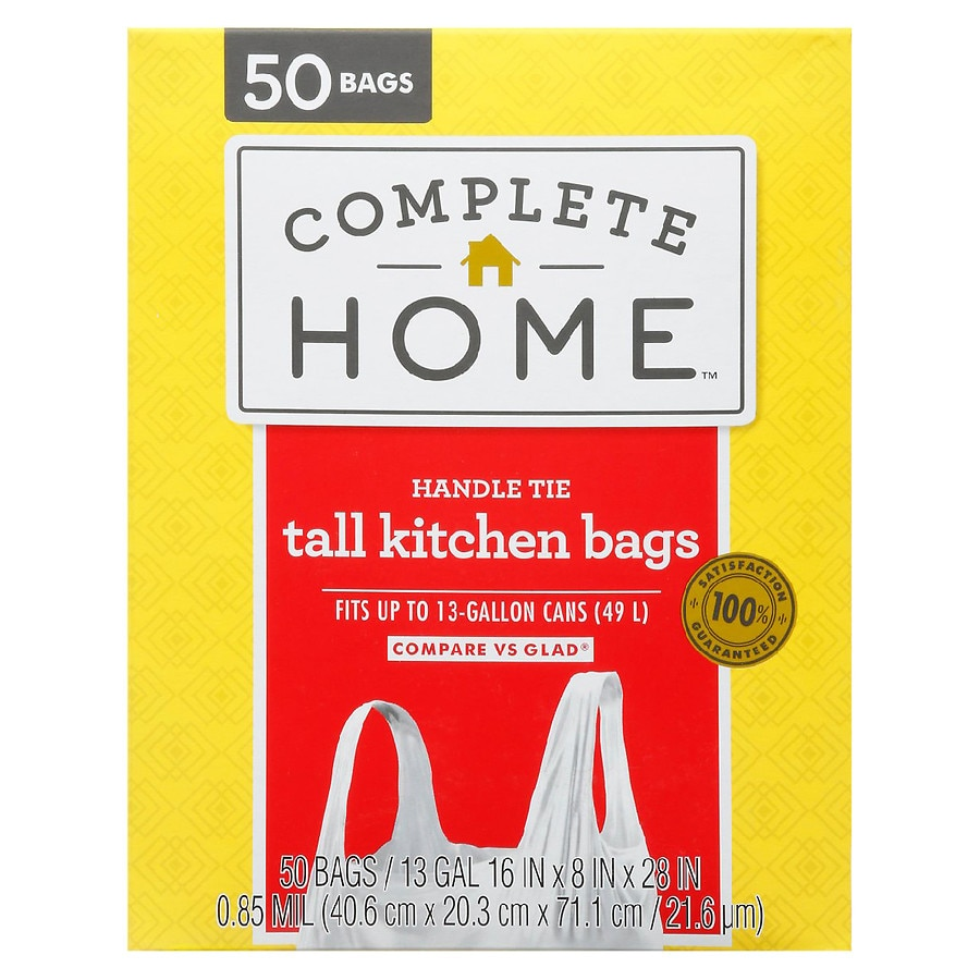 Nice! Tie Trash Bag 17 Gallon White | Walgreens