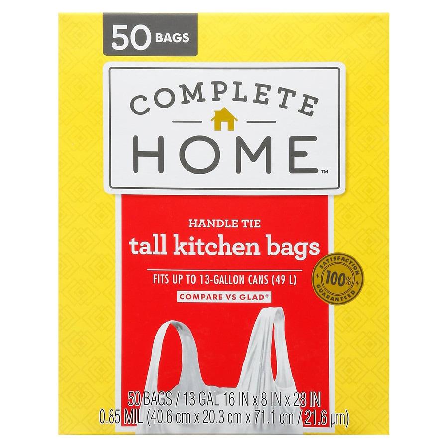Nice! Tie Trash Bag 17 Gallon White | Walgreens