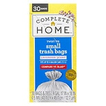 Nice! Twist Tie Trash Bag 4 gallon, White White